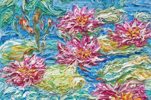 Ausstellung Ansgar Skiba – Farbfluss
