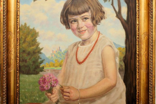 Sonderausstellung Fritz Bach Kinderportrait
